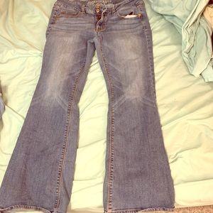 American eagle artist super stretch jeans 12 short